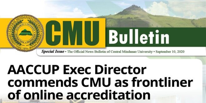 CMU Bulletin Special Issue: September 2020