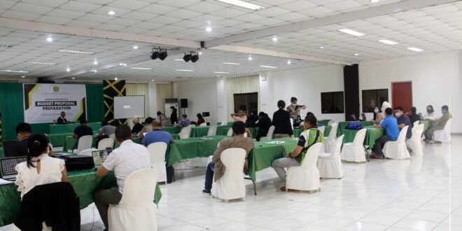 IN PHOTOS: The university conducted a seminar workshop on Budget Proposal Preparation