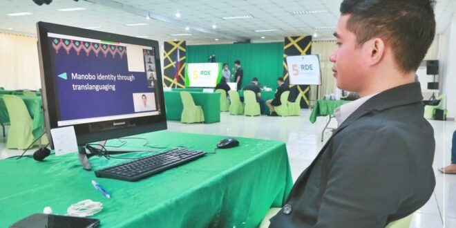 IN PHOTOS: The university conducted a virtual conferencing on the 5th RDE Congress earlier today