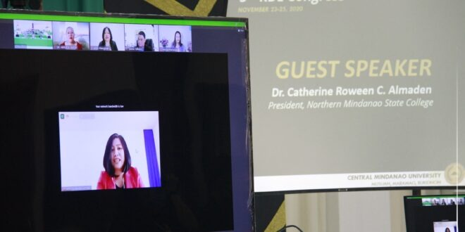 Dr. Almaden emboldens HEIs to help research community navigate challenges brought by COVID-19 pandemic