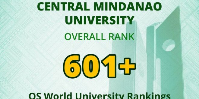 LOOK: CMU is recognized as one of the best higher education institutions in Asia as released by the Quacquarelli Symonds (QS), a global higher education think-tank and compiler of the world's university rankings.