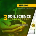 HIRING:  Soil Science Instructors
