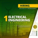 HIRING: The Electrical Engineering Department