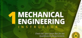 HIRING: Department of Mechanical Engineering