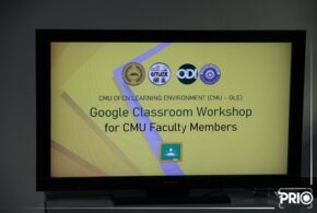 The Institute of Computer Applications (ICA) conducts a seminar-workshop for CMU faculty members about Google Classroom at the ICA building laboratory 1