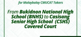 Announcement: Change of Venue for Malaybalay CMUCAT Takers From Bukidnon National High School (BNHS) to Casisang Senior High School (CSHS) Covered Court