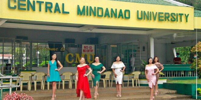 LOOK: Koryo- Bukidnon Southern Conference (Team Maramag) visits Central Mindanao University as one of the selected sites/spots in Maramag to be included in the promotional video for KANDINANG TU KORYO MINDANAO FESTIVAL.